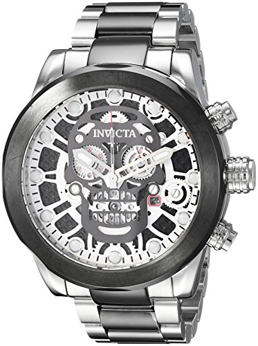 Invicta Men's Corduba Quartz Watch with Stainless-Steel Strap, Two Tone, 24 (Model: 21884)