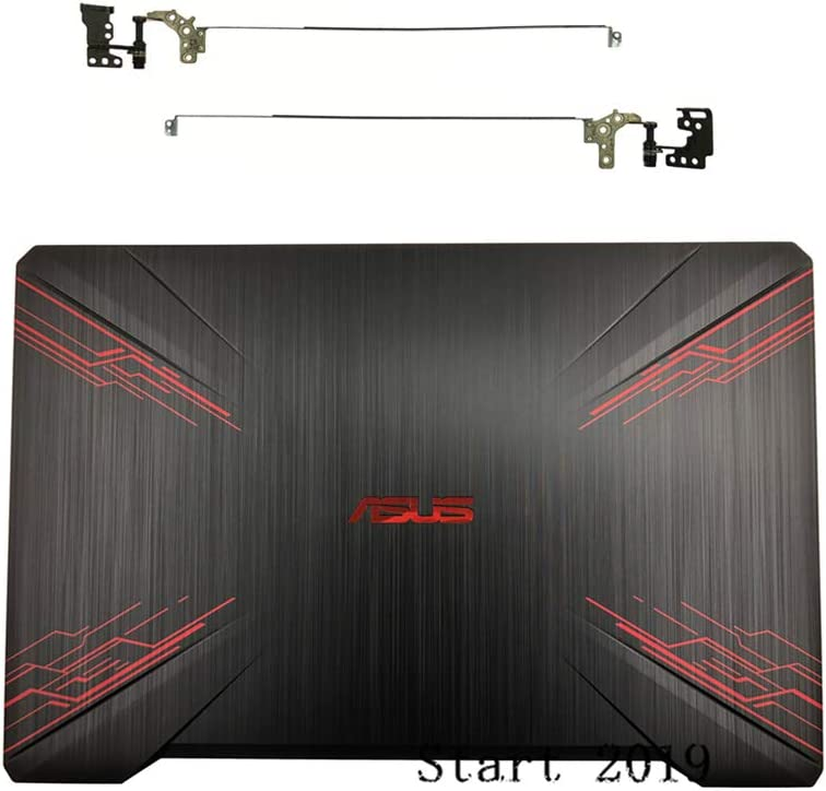 LCD Back Cover and Bezel New Compatible Replacemen for ASUS FX80 FX80G FX504 FX504G 15.6