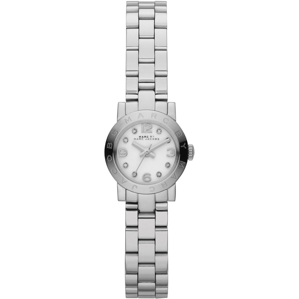 Marc by Marc Jacobs Women s MBM3225 – Amy Dinky Silver