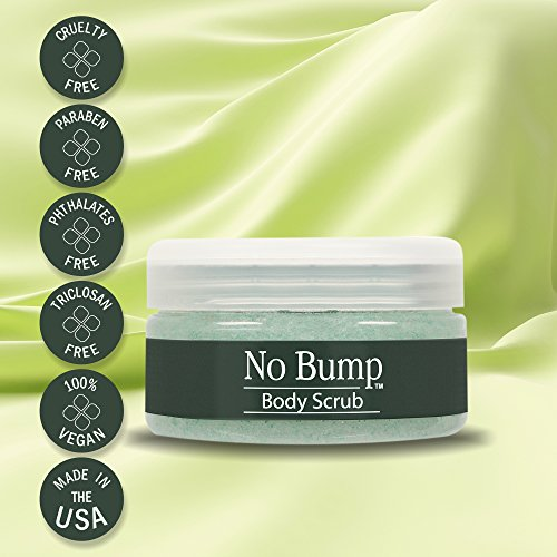 41ogih%2BkFwL GiGi No Bump Body Scrub with Salicylic Acid for Ingrown Hair & Razor Burns, 6 oz