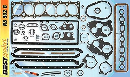 Chevy 216 235 Full Engine Gasket Set BEST 1937-53 Head & Manifold & Valve Cover Plus - 4 Sedan Air Door Bel