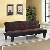 Acme 57028 Hamar Adjustable Sofa, Chocolate Finish