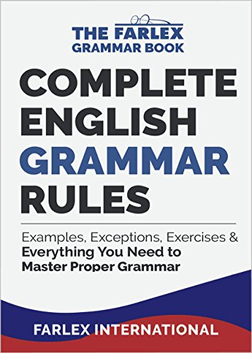 amazon com complete english grammar rules examples exceptions
