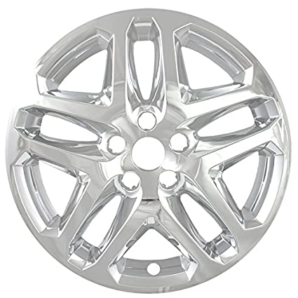Amazon Com Overdrive Brands Chrome 17 Hub Cap Wheel Skins For Ford