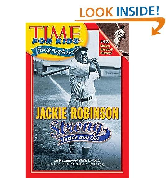 Jackie Robinson Kids Chapter Book Amazon Com