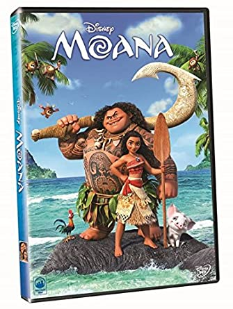 Image result for moana dvd