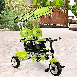 Amazon.com: Costzon Kids Trike, 4 en 1 niños Steer Tricycle ...