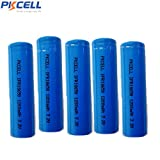#9: 3.2 Volt 1200mAh LiFePO4 18650 Rechargeable Battery Flat Top for Flashlights 5Pcs