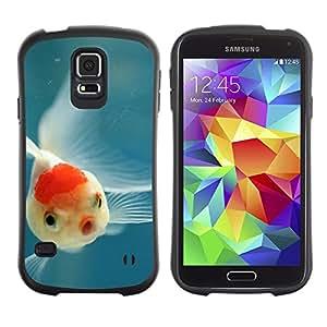Suave TPU GEL Carcasa Funda Silicona Blando Estuche Caso de protección (para) Samsung Galaxy S5 / CECELL Phone case / / Fish Tropical Scuba Diving Blue Nature /