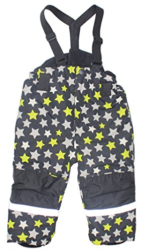 Baby Boys' Star Print Sportswear Waterproof Windproof Snowboard Ski Pant Snow Pants with Belt (Star Pant Snowboard)