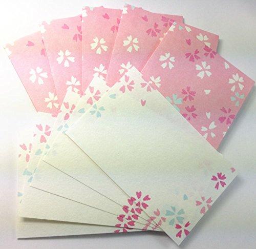 Daiso Japan Message Card Set Washi (Sakura) Photo #4
