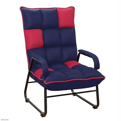 Amazon.com: HRFFCLH - Sofá de una sola silla de tela para ...