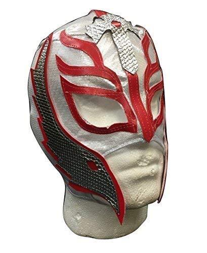 GB HALLOWEEN CARNAVAL COSPLAY PLATA Lucha Libre Rey Mysterio Hijo of the Devil Cremallera - Infantil