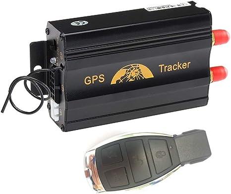 Traceur GPS,MUXAN Traqueur de GPS en Temps r/éel GPS Tracker Voiture Camion Anti-vol d/épistant Le Mini GSM GPRS SIM GPS GPS ext/érieur de Navigation de GPS avec APP