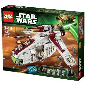 How To Make Money Though Amazon Lego Star Wars Republic Dropship ...