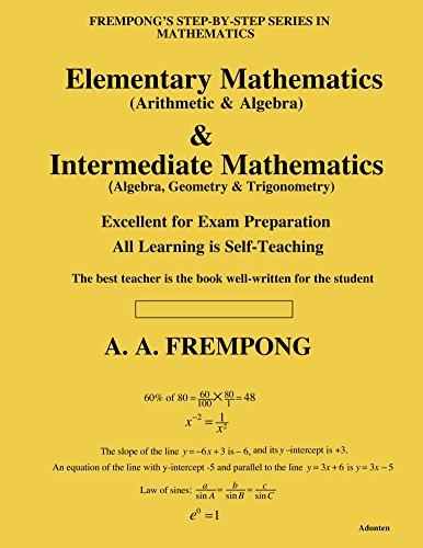 Download Elementary Mathematics & Internediate Mathematics Pdf