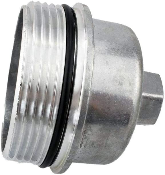 Cast Aluminum Oil Filter Housing Cap For 2011-2016 Cruze Aveo Sonic G3 Astra 1.4 1.6 1.8L