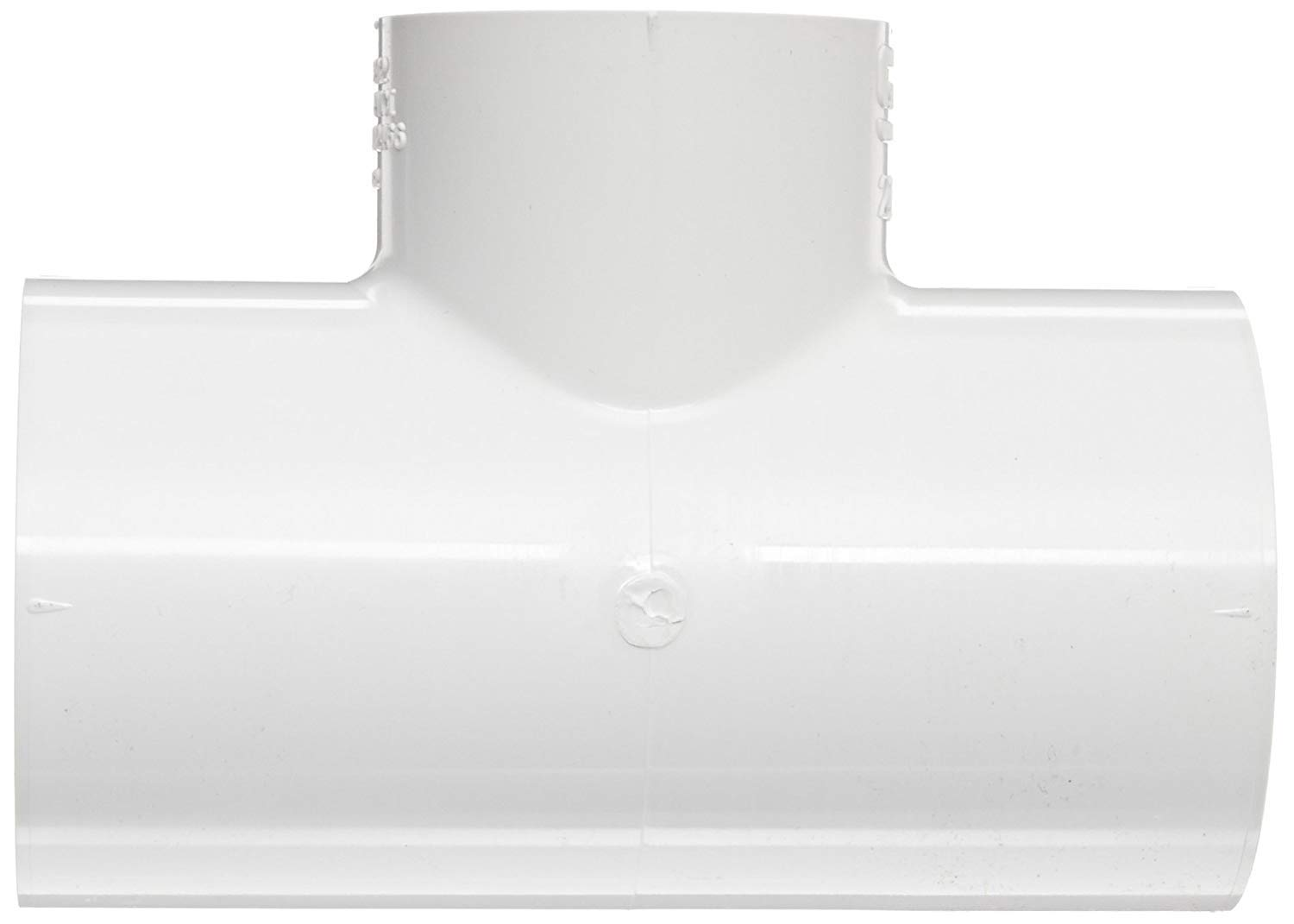 Schedule 40 White Spears 401 Series PVC Pipe Fitting Tee 1 x 1//2 Socket
