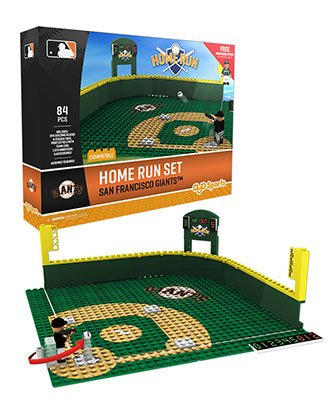 Oyo Sportstoys MLB San Francisco Giants Home Run Derby Set with Minifigure, Small, White