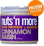 Nuts 'N More High Protein Cinnamon Raisin Almond Butter (16 oz)