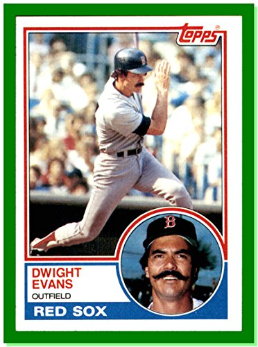1983 Topps #135 Dwight Evans BOSTON RED SOX