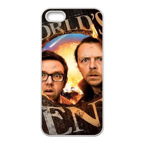 The Worlds End coque iPhone 4 4S cellulaire cas coque de téléphone cas blanche couverture de téléphone portable EOKXLLNCD20365