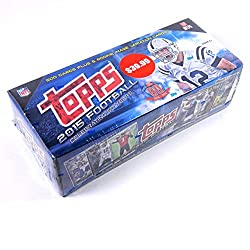 Celebrate the 60th Anniversary of Topps Football in 2015 with the all-time classic in NFL Trading cards! Appeals to football fans and card collectors alike! Ships in time for the holiday season and makes the perfect gift! Every base card from 2015 To...