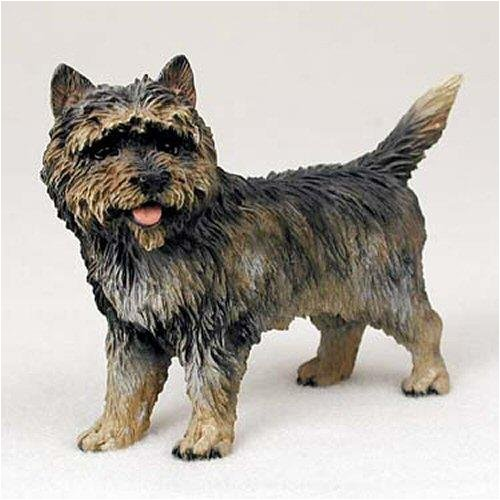 Terrier Figurine (Cairn Terrier, Brindle Original Dog Figurine (4in-5in))