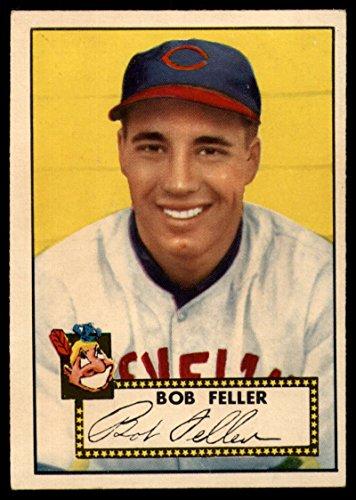 Baseball MLB 1952 Topps #88 Bob Feller VG Very Good Indians Bob Feller Mlb Baseball