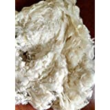 Wool Stuffing/Batting By the Pound - Natural - 1 Pound