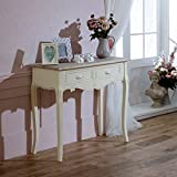 Melody Maison Cream Country Style Console/Dressing Table - Country Ash Range