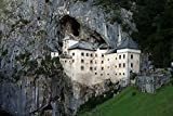 """Predjama Castle In Postojna Cave Slovenia Europe Art Poster 26"""" X 17"""""""