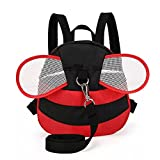 Zerci Bee Baby Toddler Walking Safety Belt Harness with Leash Child Kid Assistant Strap For 3-7 Years Old