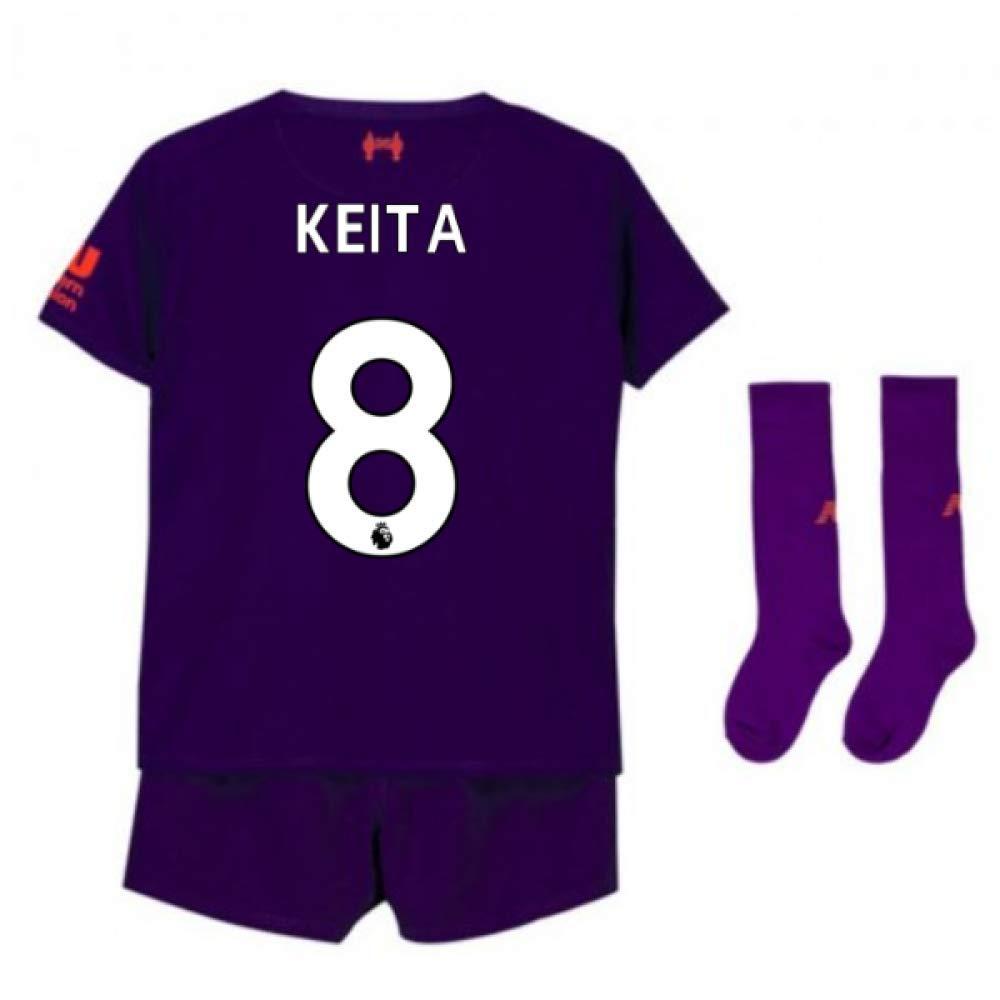 UKSoccershop 2018-2019 Liverpool Away Little Boys Mini Kit (Naby KeïTA 8)