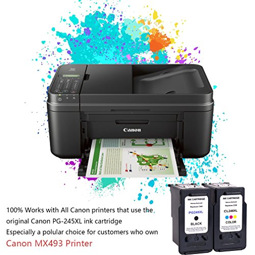 Remanufactured Ink Cartridge Replacement For PG 245XL 245 XL (Single Black) With Ink Level Indicator Used In Canon PIXMA iP2820 MG2420 MG2520 2920 MG2922 MG2924 MX492 MX490 Printer Photo #4