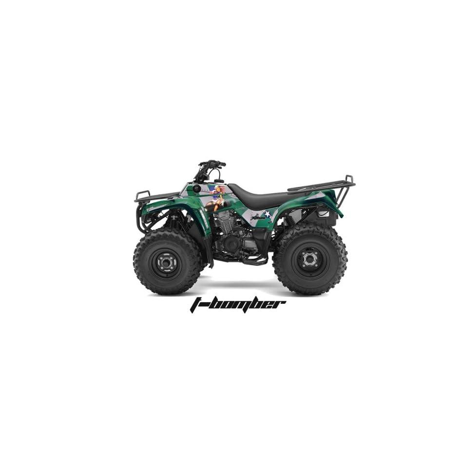 AMR Racing Kawasaki Bayou 250, Bayou 220, Bayou 300 ATV Quad, Graphic Kit   T