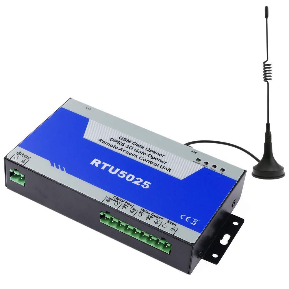 Control Remoto por gsm de Apertura de Puertas y Equipos el/éctricos RTU5025W BeMatik