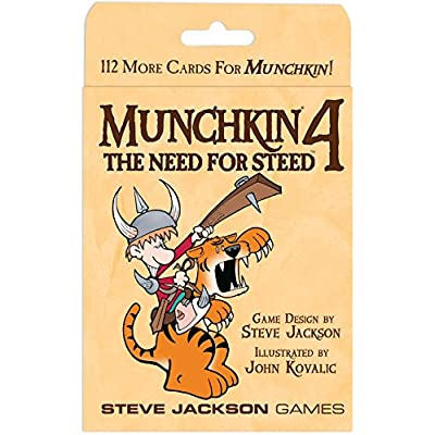 Munchkin 4 Need for Steed expansion: Toys & Games