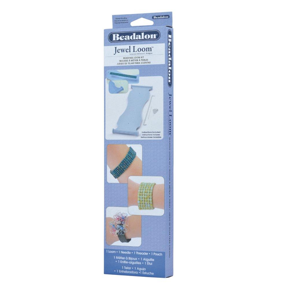 Beadalon Jewel Loom Portable Beading Loom Kit 206S-064
