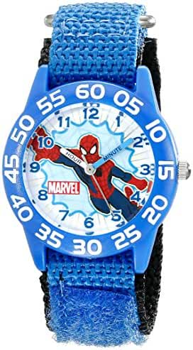 Marvel Kids' W001717 Spider-Man Analog Display Analog Quartz Blue Watch