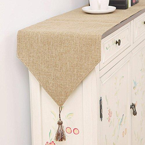 Moderno y minimalista mesa de color sólido bandera de mesa de ...