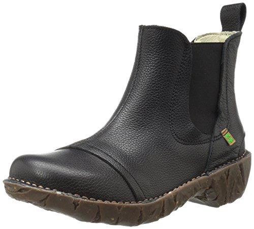 Black Yggdrasil Naturalista Soft N158 El Boots Chelsea Damen Grain wxf4XWvqa