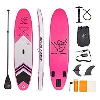 WAVEY BOARD Inflatable Stand Up Paddle Board