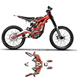 Kungfu Graphics Custom Decal Kit for Sur-Ron Light