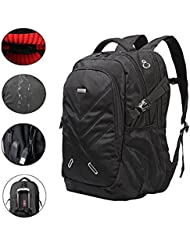 Backpack for Laptops Up To 18.4 Inch Hiking Backpack Water Resistant Travel Computer Backpack Shockproof Laptop...