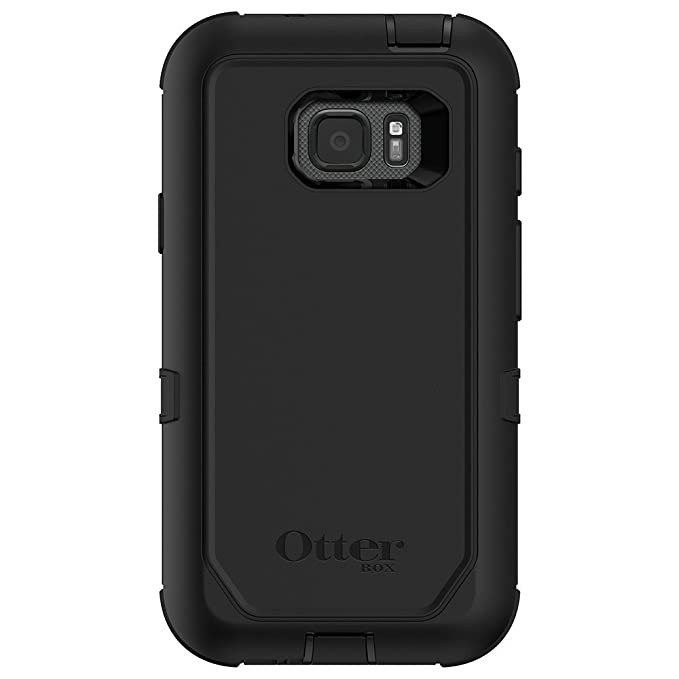newest a3680 18137 OtterBox DEFENDER SERIES Case for Samsung Galaxy S7 ACTIVE (ONLY) -  Frustration Free Packaging - BLACK