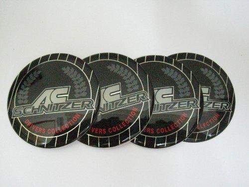 Ac Schnitzer Drivers Collection 4 Pcs Set Decal Wheel Center Caps Emblems