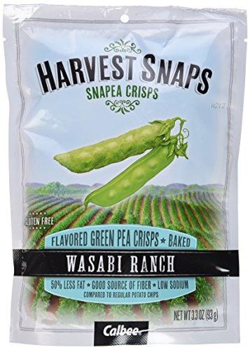 Calbee Snapea Crisps - Wasabi Ranch - 3.3 OZ - 4 Pack