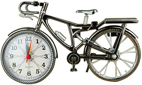 Bicicleta Reloj, Bicicleta Reloj de Mesa clásico silencioso Retro ...