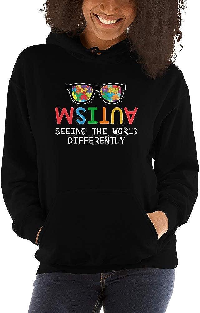TEEPOMY Autism Awareness Seeing The Worlf Differently Unisex Hoodie